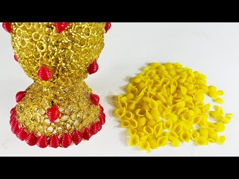পাস্তা দিয়ে ইউনিক আইডিয়া | Diy Art And Craft With Pasta