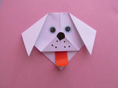 СОБАЧКА. Легкое Оригами для Детей Своими Руками. Видео