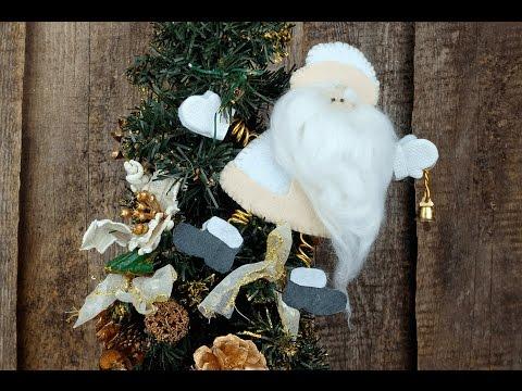 Дед Мороз из фетра своими руками. Мастер-классы на Подарки.ру