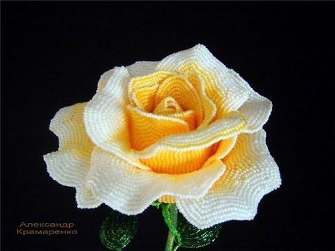 Розы из бисера 1 1