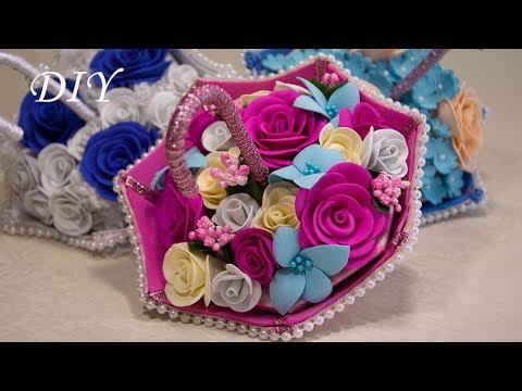 Подарок к 8 марта своими руками- необычная конфетница- зонтик//Зонтик с конфетами//DIY Candy cane.