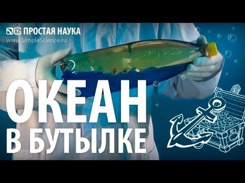 ОКЕАН В БУТЫЛКЕ - опыт с водой и маслом