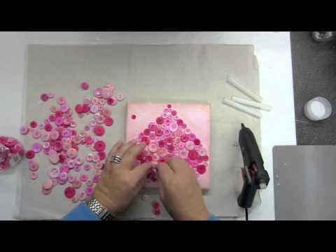 Create a Valentine Button Heart