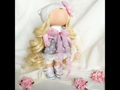 Часть 1.Тильда/Кукла своими руками// How to make a doll tilde?