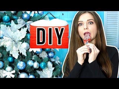 10 идей для украшения елки / DIY игрушки на елку / New Year 🐞 Afinka