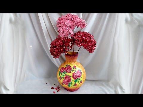 Ваза из папье-маше своими руками. Как сделать вазу
