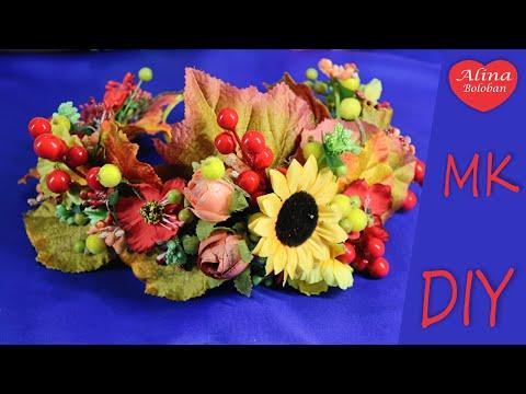 Осенний Венок Собираем вместе . МК / DIY Autumn Wreath