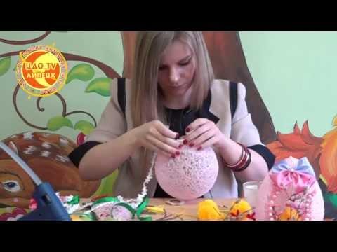 Создание декоративной пасхальной композиции (Страна мастеров)