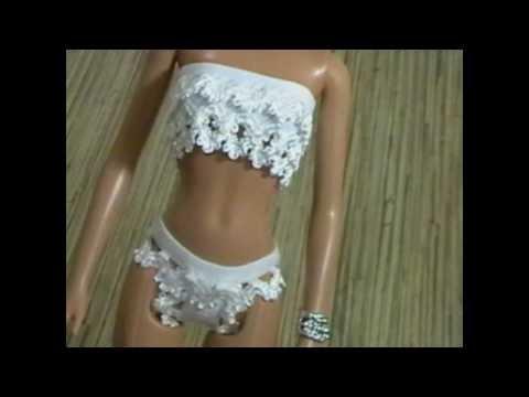 как сшить нижнее белье для куклы