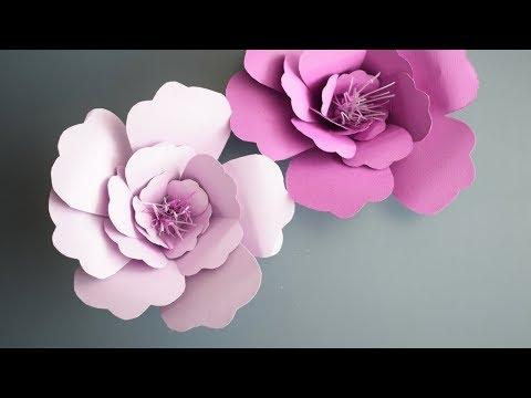 Бумажные цветы | DIYideas
