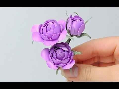 Цветы (розы) из ткани своими руками | Tavifa