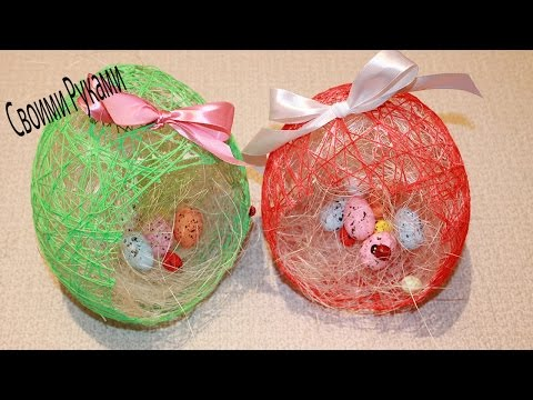 DIY Идея декора к Пасхе/ Easter Crafts