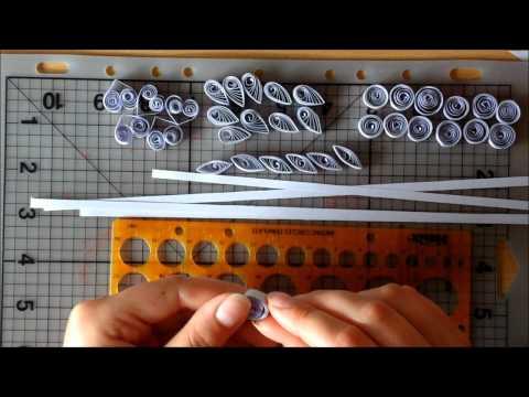 Мастер-класс снежинки из бумаги в технике квиллинг