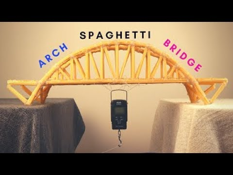 Making a Spaghetti Bridge and Testing it!