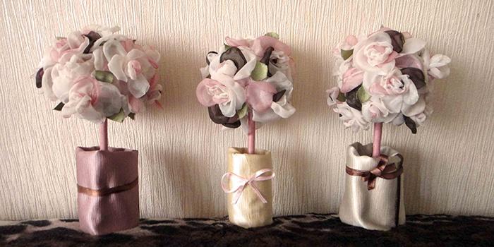 Изделия из фатина для свадьбы шары пошаговое фото