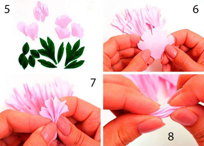 13-1-700x503 Роза из фоамирана (70 фото): как сделать своими руками, идеи и мастер-классы
