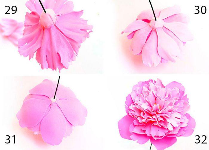 19-700x503 Роза из фоамирана (70 фото): как сделать своими руками, идеи и мастер-классы