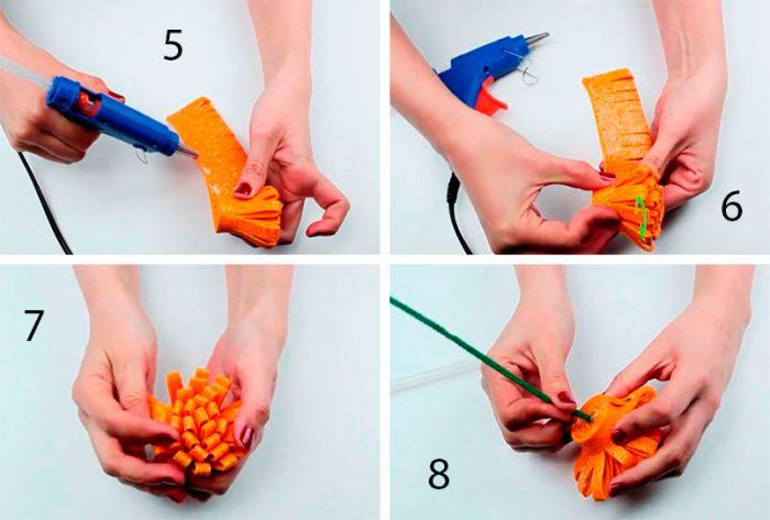 49-700x473 Роза из фоамирана (70 фото): как сделать своими руками, идеи и мастер-классы