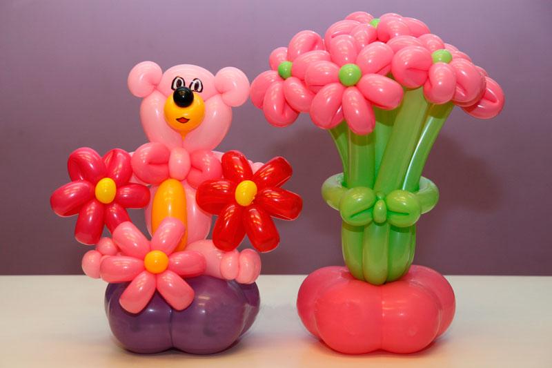 1-2 Как сделать цветок из шарика своими руками (подборка мастер-классов и видео)
