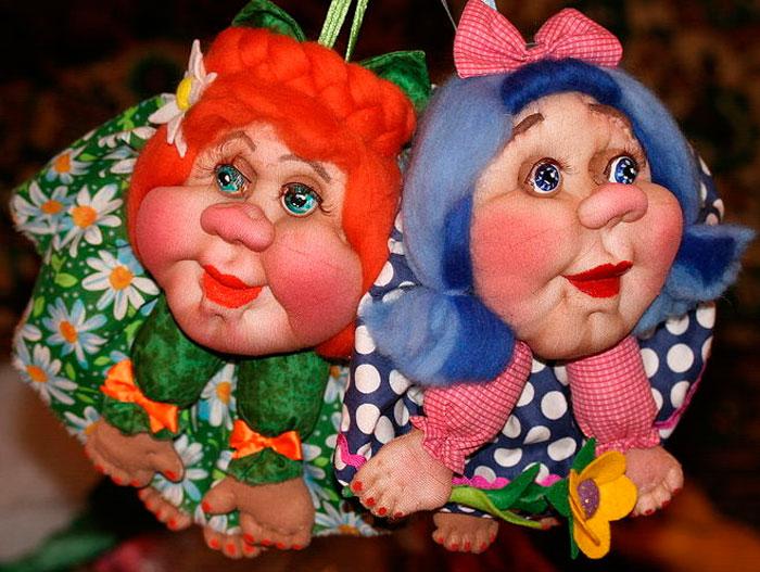 1-1 Куклы из капроновых колгот своими руками, мастер-класс с фото