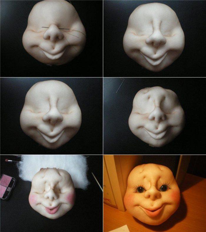 13-700x788 Куклы из капроновых колгот своими руками, мастер-класс с фото