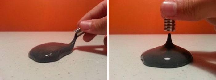 магнитный лизун в домашних условиях