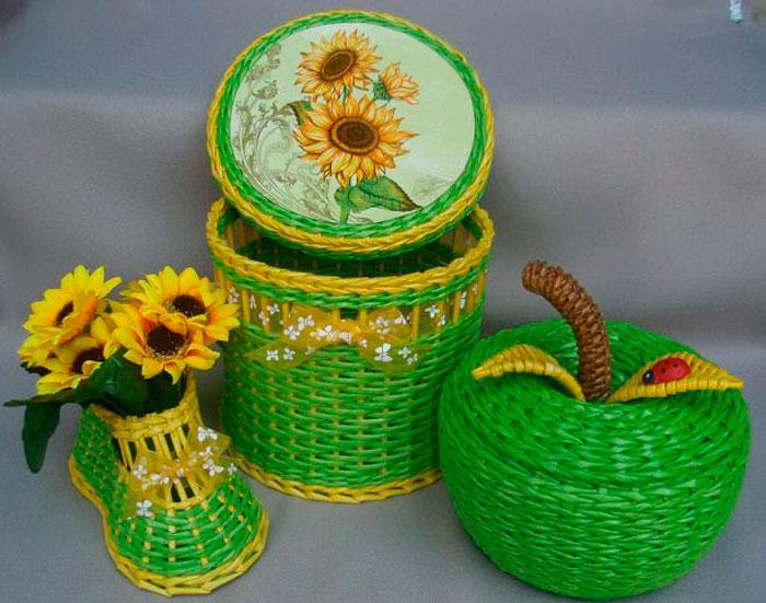 2 Плетение из газетных трубочек для начинающих пошагово: техника плетения, мастер класс, фото. Плетение корзин, шкатулок, коробок из газет для начинающих: схемы, загибы, фото