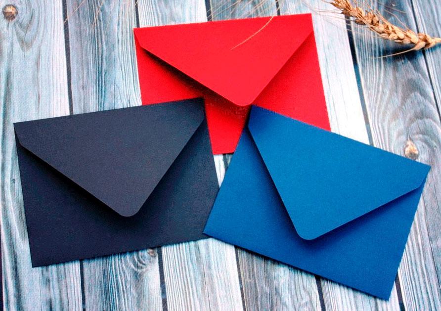 11-3 Как сделать конверт из бумаги А4 своими руками для письма