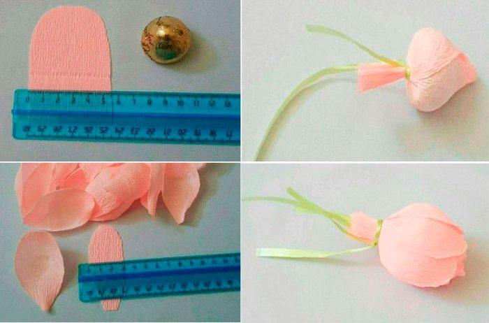 37-700x462 Как сделать розу из бумаги своими руками