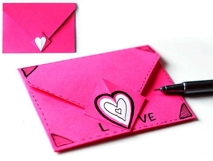 конверт из бумаги своими руками