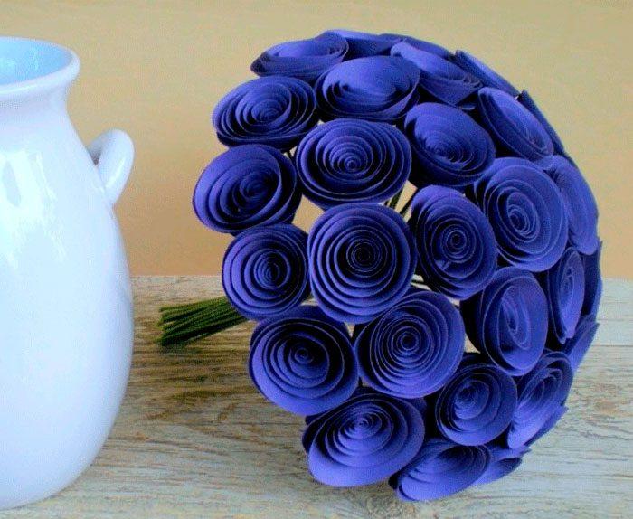 Спиральные цветы