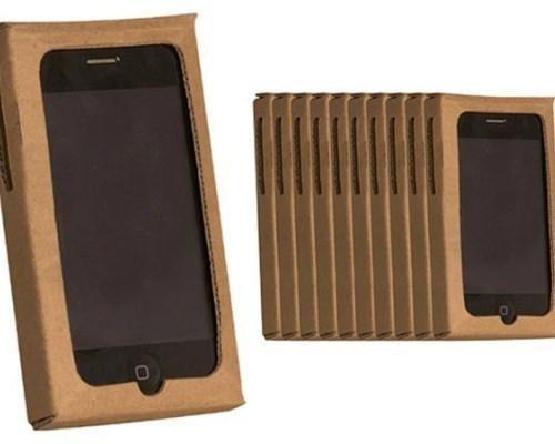 Чехол для мобильного телефона из картона