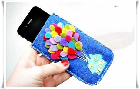Чехол для мобильного телефона из фетра