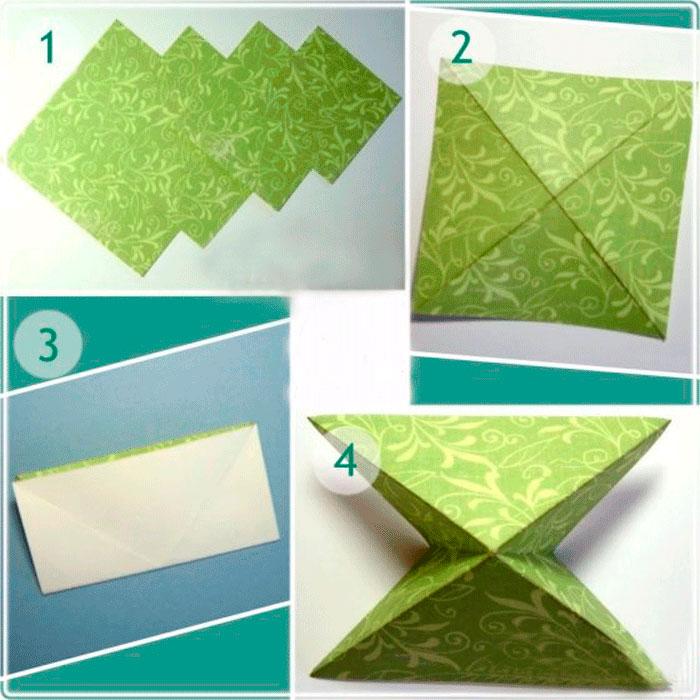 Как сделать сложить открытку