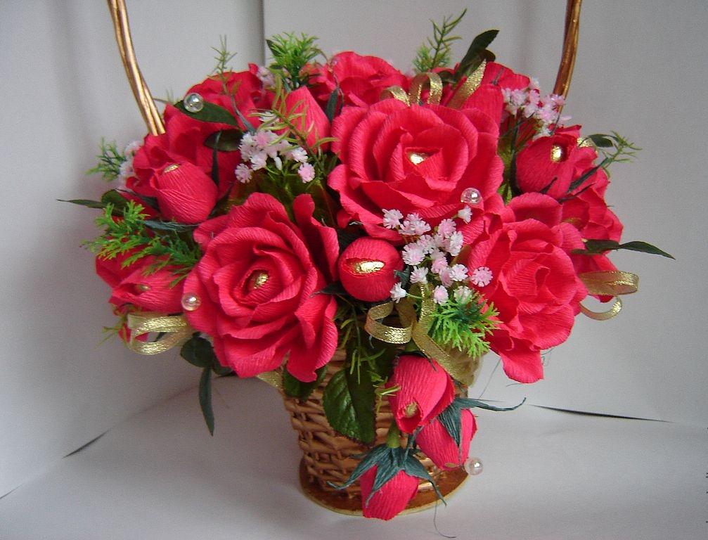 2-13 Роза из бумаги своими руками: красивые искусственные цветы (120 фото)