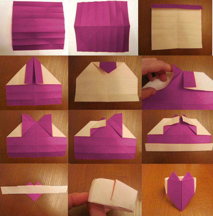 Бумажные сердечки своими руками 506