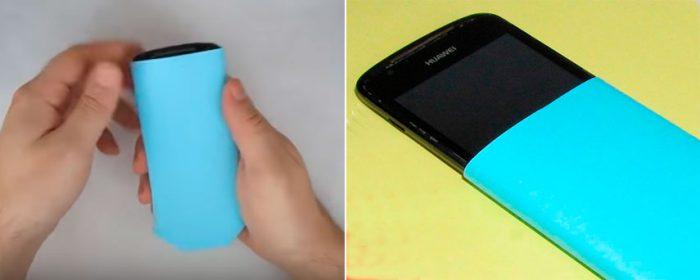 Чехол для мобильного телефона из бумаги