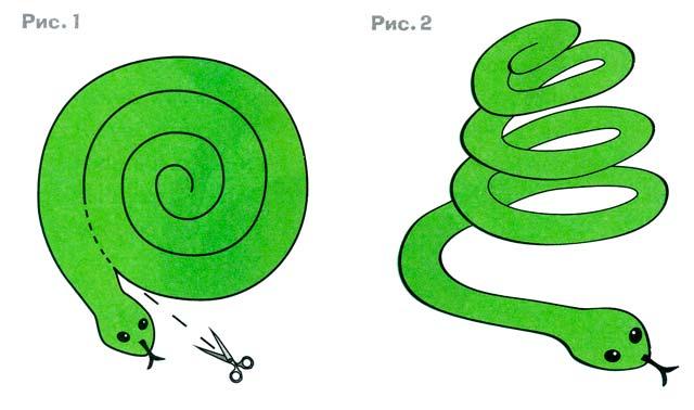 Гирлянда «Змейка» мастер-класс