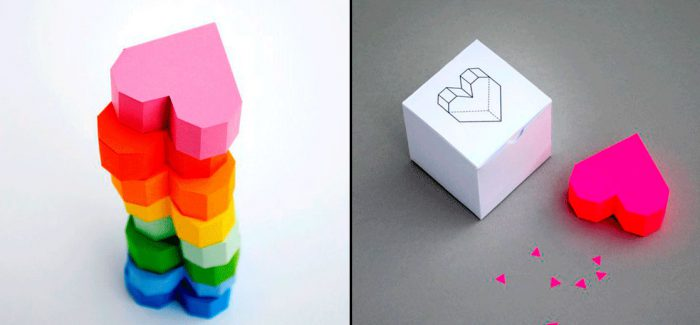 Объёмное 3D сердце