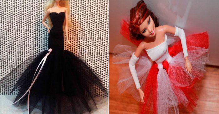Одежда для кукол из сетки