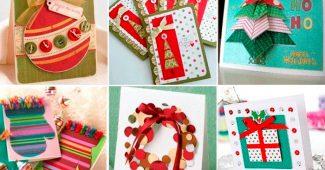 открытки с новым годом своими руками