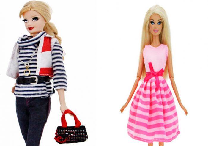 Одежда для кукол в полоску