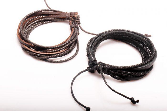 браслеты из шнурков своими руками