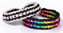 схемы плетения браслетов из резиночек своими руками