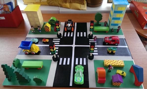 Наглядное пособие правил дорожного движения для детей