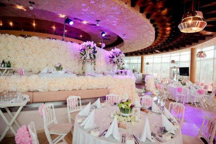 шикарный зал для свадьбы