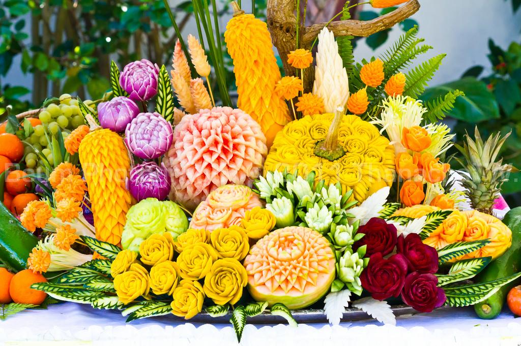 Карвинг для начинающих: украшения из овощей