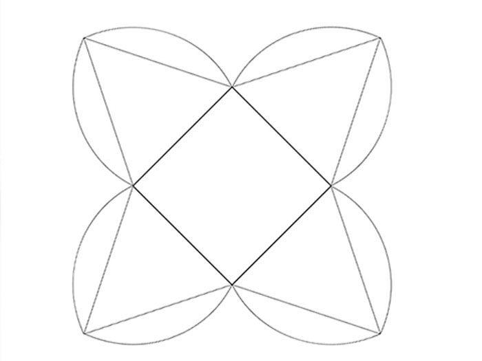 Коробочка для подарка шаблон