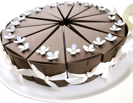 торт из бумаги своими руками