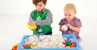 кинетический живой песок в домашних условиях